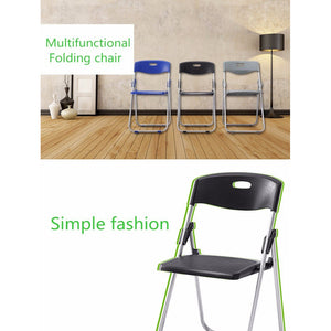 Multipurpose Folding Chair Steel Frame, 1 Pack