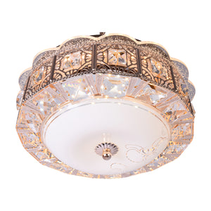 Crystal Ceiling Light With 3 Colour LED-Starry Night