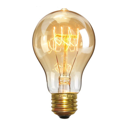 Filament Vintage light bulb 40W E27