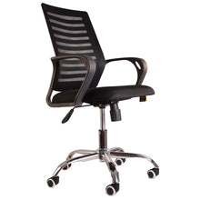 Load image into Gallery viewer, Premium Mesh Office Chair for Home Office Work - Black