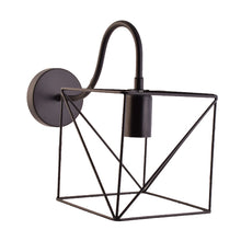 Load image into Gallery viewer, Square Industrial Vintage Wall Light E27 Holder