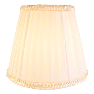 Brown Table Lamp Bedside Lamp with Cream Shade