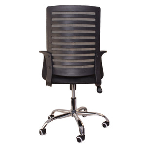 Premium Mesh Office Chair for Home Office Work - Black
