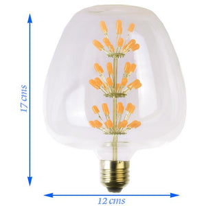 Apple Shaped Decorative 8 watt LED Bulb (Warm White)