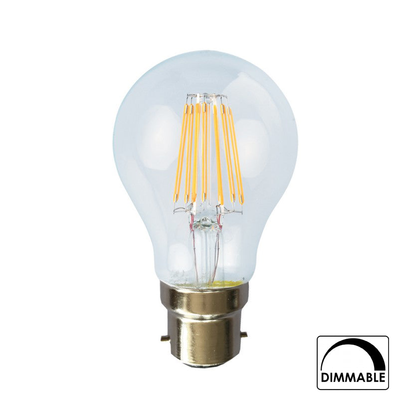 Starry Night B22 8 Watt Warm White Dimmable LED Bulb
