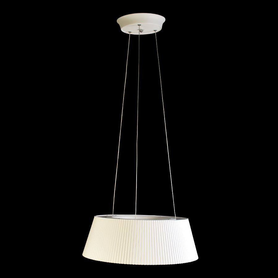 White 3 Colour LED Pendant Light