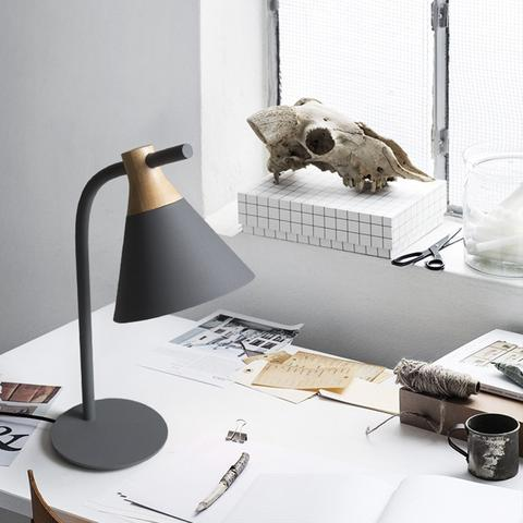 Nordic Desk Lamp Table Lamp, Grey