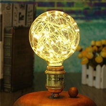 Load image into Gallery viewer, Decorative 3 watt LED G95 Edison Bulb Firework