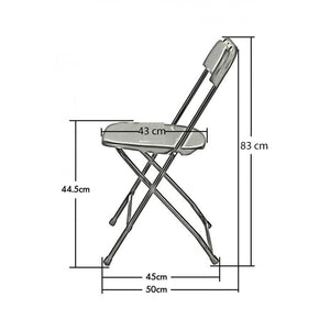 Multipurpose Folding Chair, 2 Pack