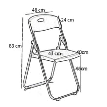 Load image into Gallery viewer, Multipurpose Folding Chair Steel Frame, 1 Pack