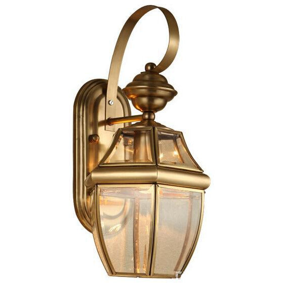 Copper Color Vintage Outdoor/Indoor Wall Light-Starry Night