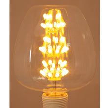 Load image into Gallery viewer, Apple Shaped Decorative 8 watt LED Bulb (Warm White)-Starry Night