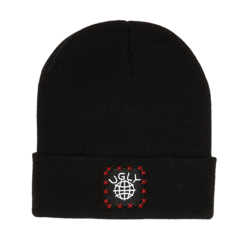 Lil Ugly Knit Beanie Black