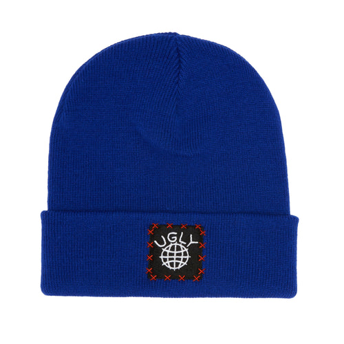 Lil Ugly Knit Beanie Blue