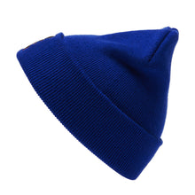 Load image into Gallery viewer, Lil Ugly Knit Beanie Blue