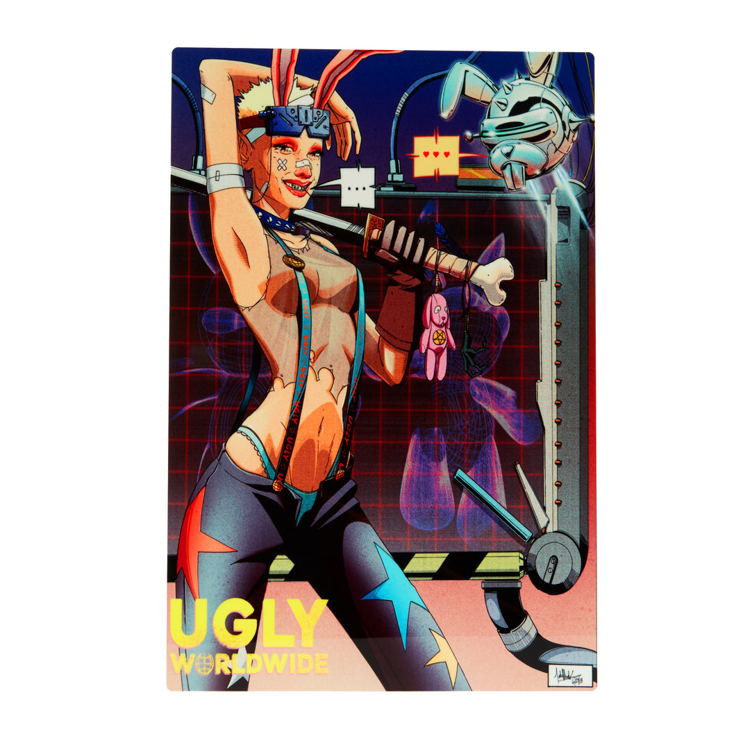 Revolution Chromalux High Gloss Metal Poster A4