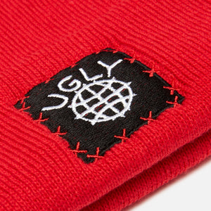 Lil Ugly Knit Beanie Red