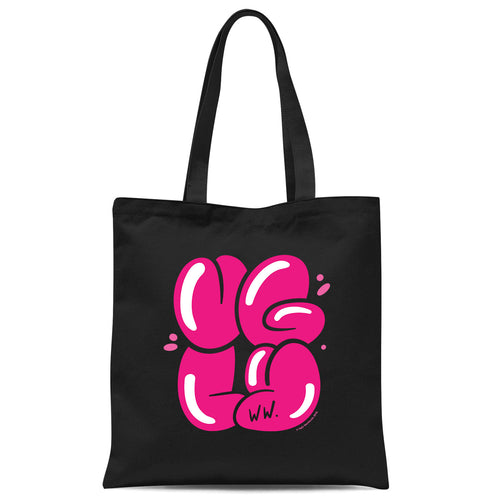 Blew Up Ugly Tote Bag