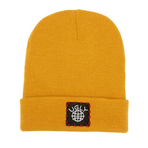 Lil Ugly Knit Beanie Mustard