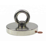 1500 lbs Pull Force Strong Neodymium Round Hippo Fishing Magnet