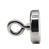 Fishing Magnet - 400 lbs Pull Force Strong Neodymium Round Hippo Fishing Magnet