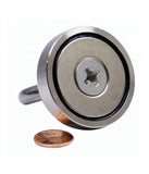 250  lbs Pull Force Strong Neodymium Hippo Fishing Magnet