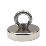 Fishing Magnet - 500 lbs Pull Force Strong Neodymium Round Hippo Fishing Magnet For Magnetic Fishing