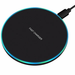 10W Qi Fast Wireless Charger For all Samsung Galaxy Phones