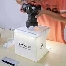 Load image into Gallery viewer, Mini LED Studio Photo Box