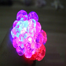 Load image into Gallery viewer, Mesh Squishy Glowing Anti-stress Ball
