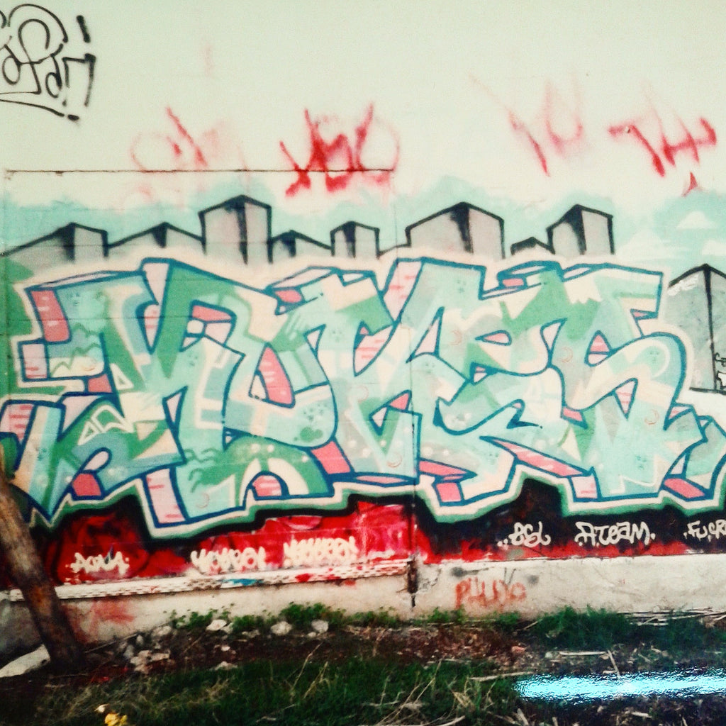 kokes esl ateam 90's graffiti