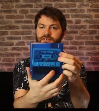 tapeworm blue clear cart with cassette inside