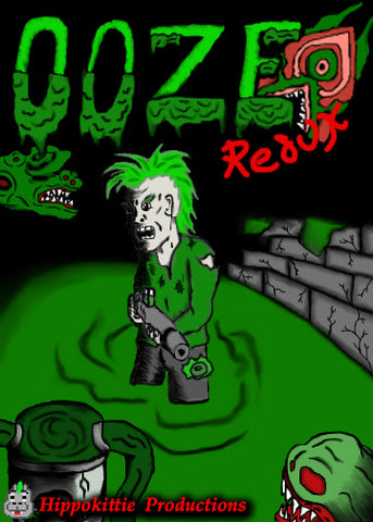 ooze redux nes game cover