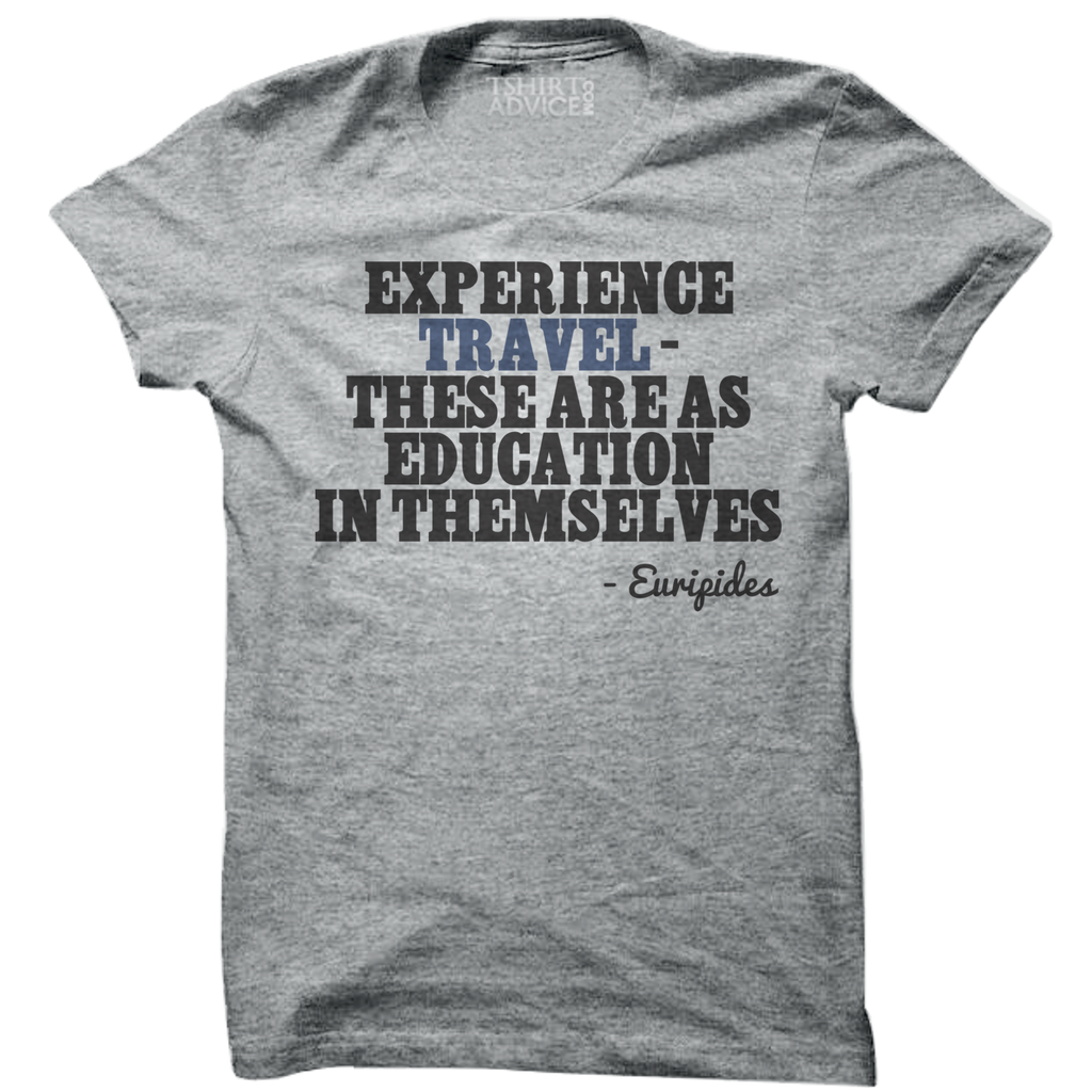Euripides T-shirts – Experience travel