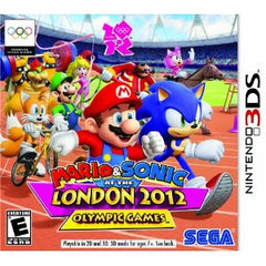 Mario and Sonic at the London 2012 Olympics