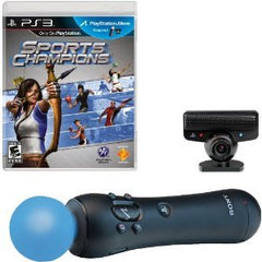 PS3 Move Start Bundle with Sports Champions
