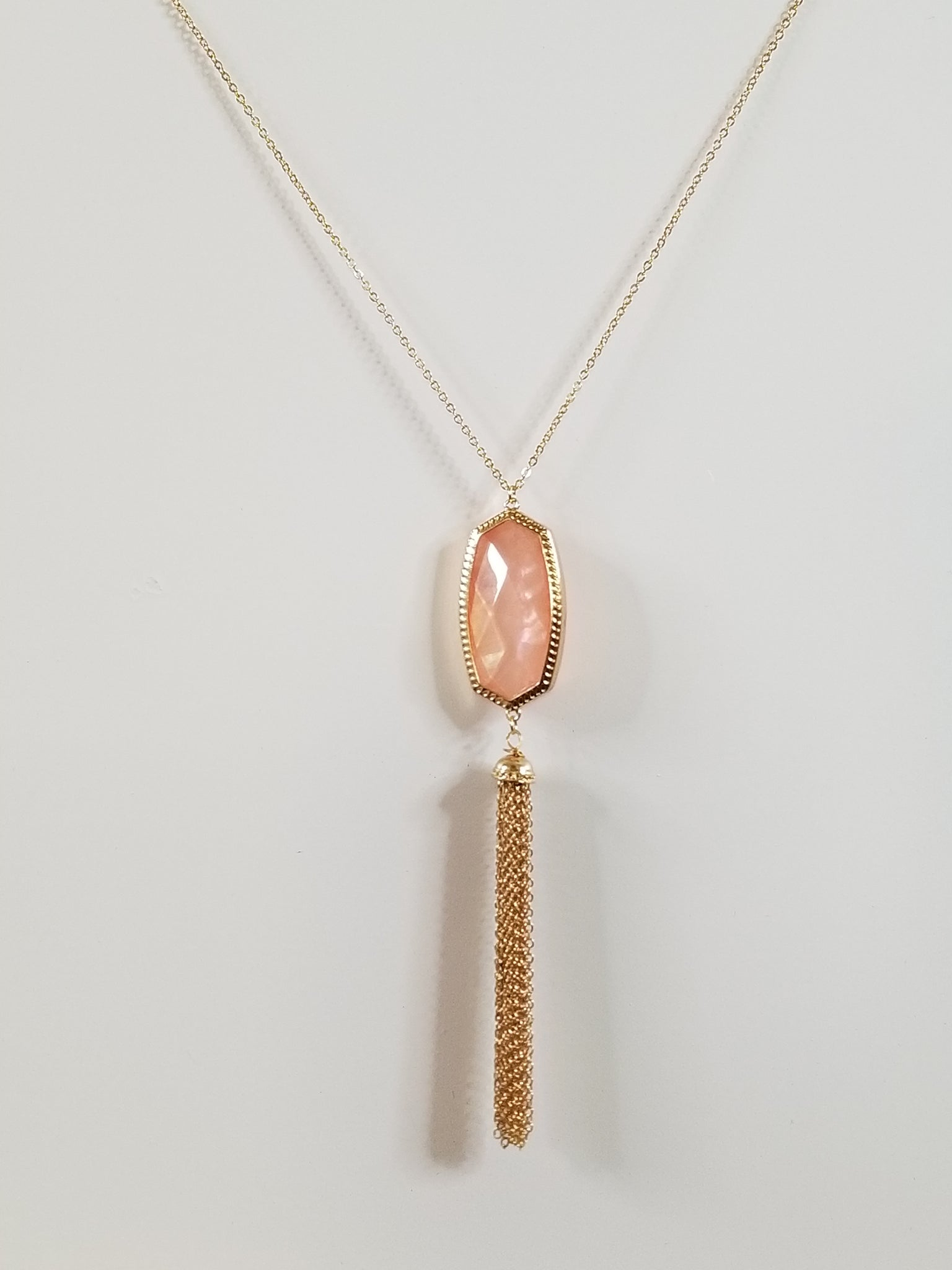 Sophia - Rose Pink Necklace