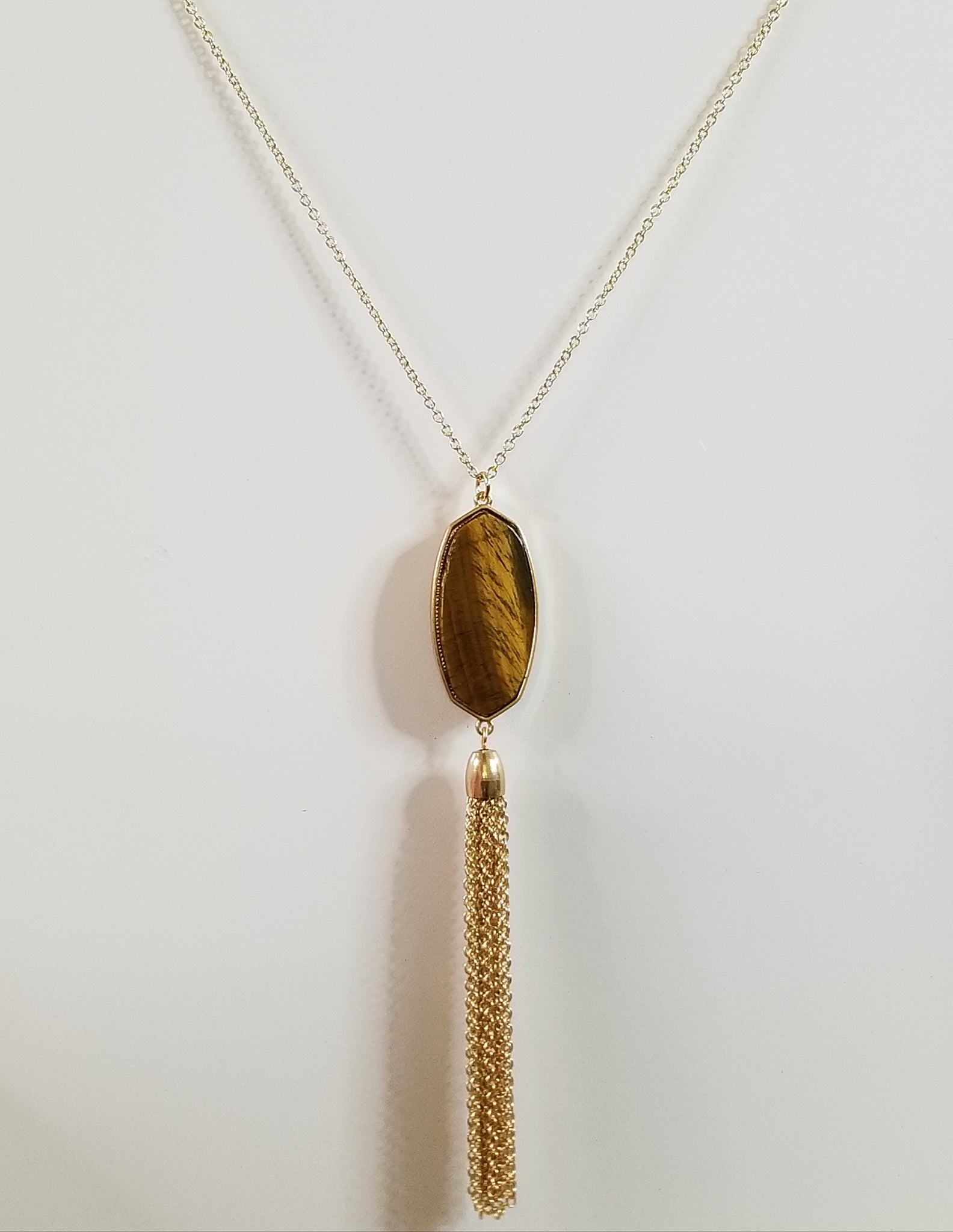 Sophia - Tigers Eye Necklace