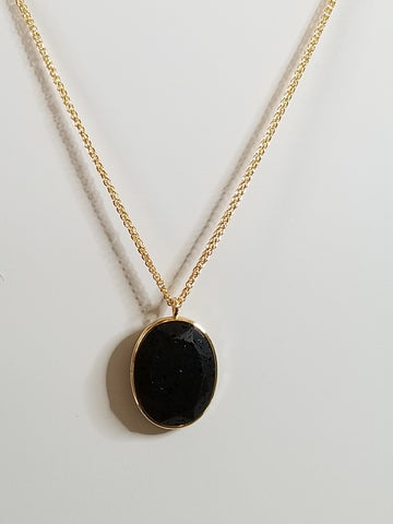 Scarlett - Black Necklace