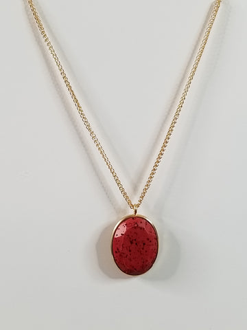 Scarlett - Red Necklace