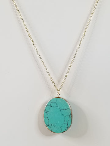 Nora - Turquoise Necklace