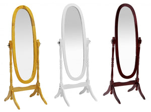 The Mirror Range - Natural Wood Mirror
