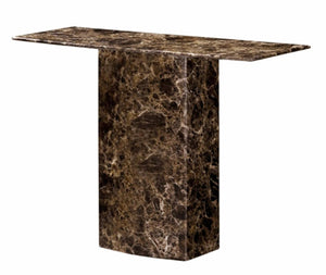 The Kiev Range - Natural Marble Console Table