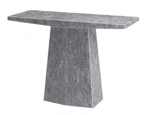 The Multan Range - Natural Marble Console Table