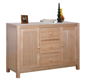 The Cyprus Range - Natural Wood Solid Ash Sideboard