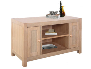 The Cyprus Range - Natural Wood Solid Ash Media Unit