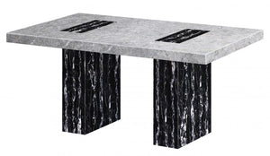 The Lotus Range - Natural Marble Dining Table
