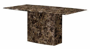 The Kiev Range - Natural Marble Dining Table