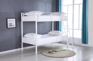 The Himley Range - White Metal Bunk Bed