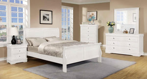 The Horizon Range - White Solid Pine Bedroom Sets